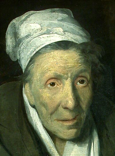 Theodore Gericault, The Woman with Gambling Mania. 1819–1824? Oil on canvas, 77 х 64 cm