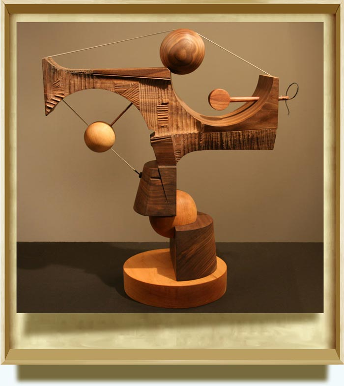 George Tkabladze (b. 1971 in Kutaisi, Georgia). New Constellation. 2009. Wood. 26.5×18.5×8.5 inch. https://www.giatkabladze.com/Fraims.html?=reviews.html