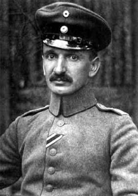 Теодор Калуца на военной службе