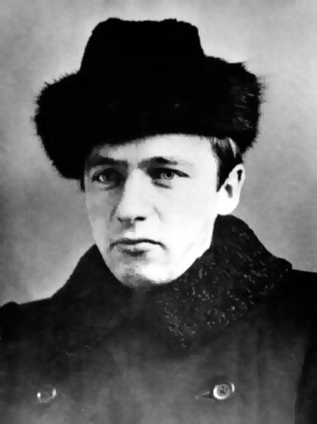 Велимир Хлебников в 1915 г.
