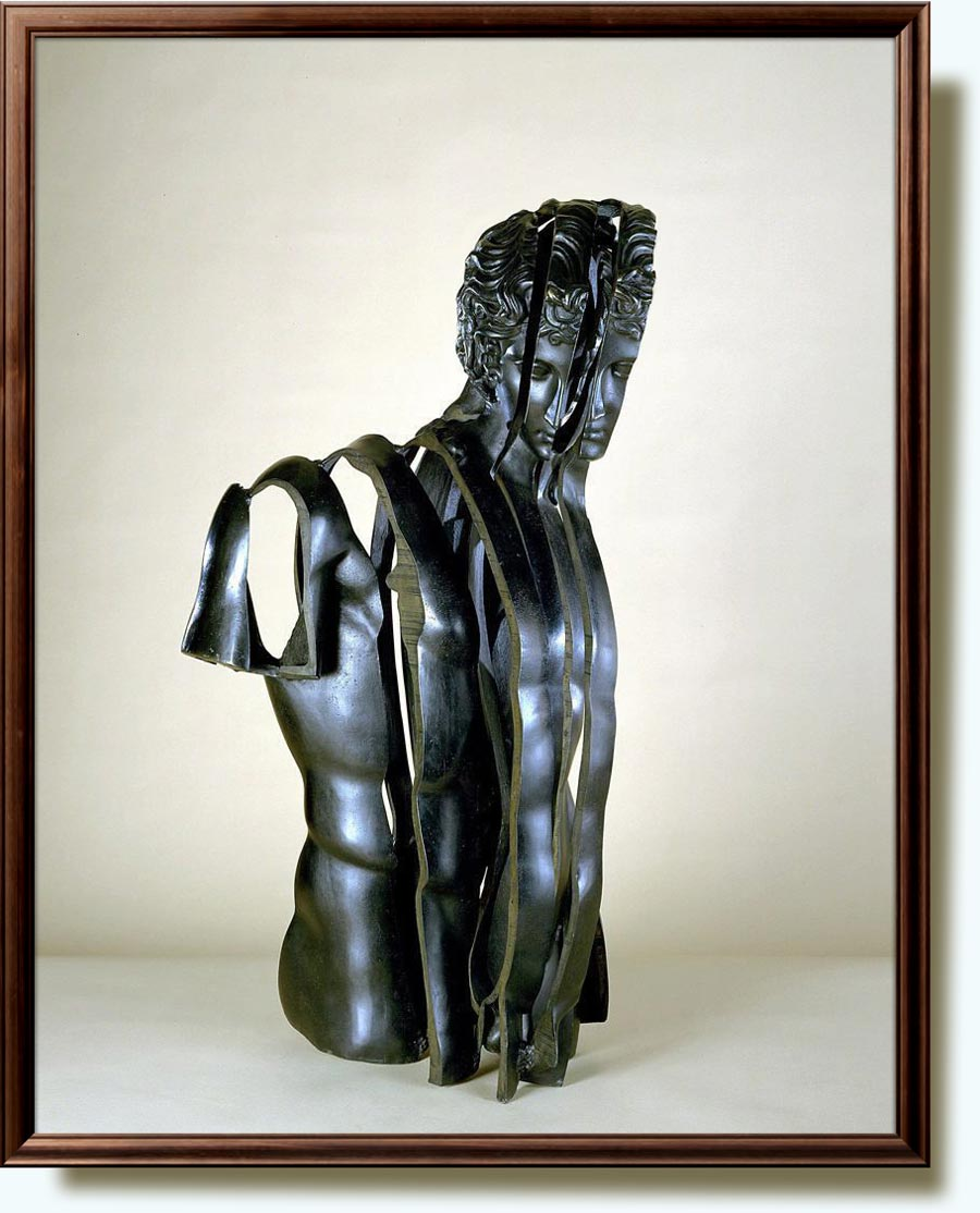 Arman, christened Armand, Pierre Fernandez (b. 1928 in Nice, France; d. 2005 New York). Eros, Inside Eros. 1986. Bronze. 85.4×45.8×51.1 cm. Hirshhorn Museum and Sculpture Garden, Washington, DC, US.